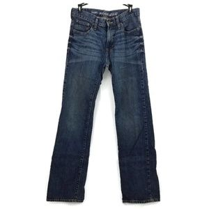 Old Navy Famous Straight Droit Recto Zip jeans